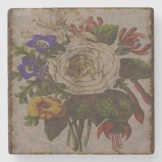 Vintage Bouquet Stone Coaster