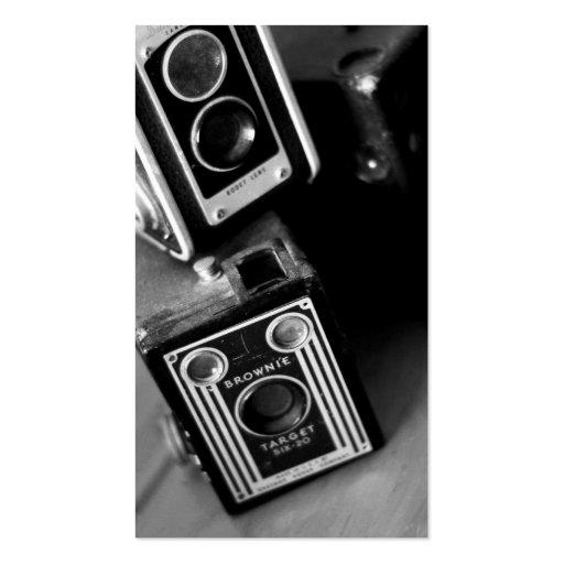 Vintage Box Cameras Business Cards