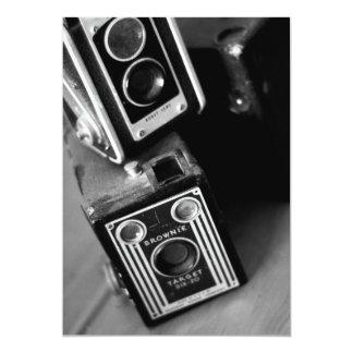 Vintage Box Cameras Card