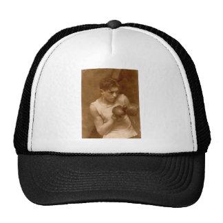 Vintage Boxer Boy Cap