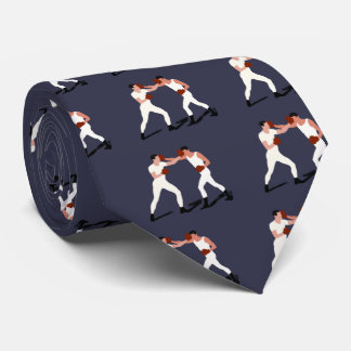Vintage Boxing Gifts Tie