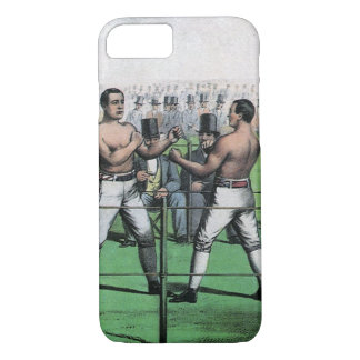Vintage Boxing, Great Fight for the Championship iPhone 7 Case