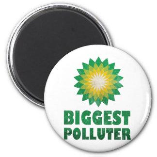Vintage BP Oil Spill Fridge Magnets