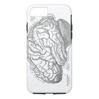 Vintage Brain Anatomy iPhone 7 Case