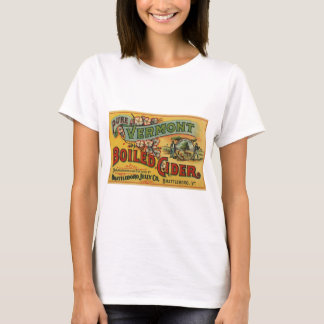 Vintage Brattleboro Jelly Boiled Cider Vermont T-Shirt