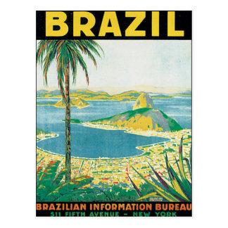 Vintage Brazil Postcard