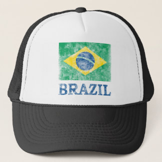 Vintage Brazil Trucker Hat