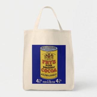 Vintage Breakfast Cocoa Ad Tote Bag