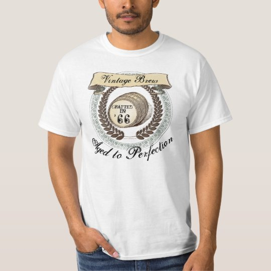 Vintage Brew 1966, 50th Birthday T-Shirt