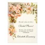 Vintage Bridal Shower Antique Roses Flowers Floral