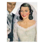 Vintage Bride and Groom Post Cards