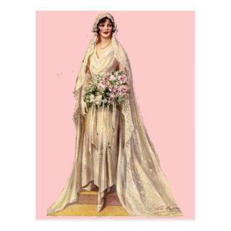 Vintage Bride Postcards