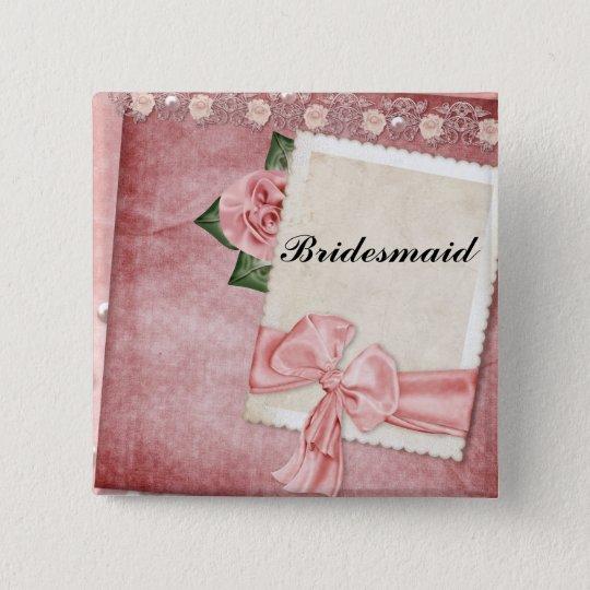 Vintage Bridesmaid Pin