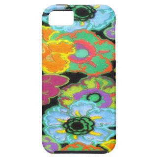 Vintage Bright Flowers Floral Design iPhone 5 Case