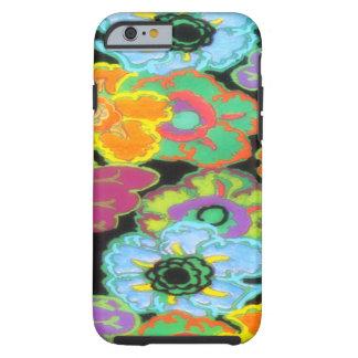 Vintage Bright Flowers Floral Design iPhone 6 case Tough iPhone 6 Case