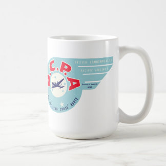 Vintage British Commonwealth Pacific Airlines Mug