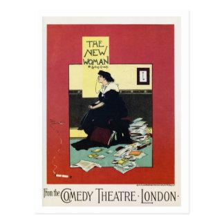 Vintage British London theatre play advert Postcard