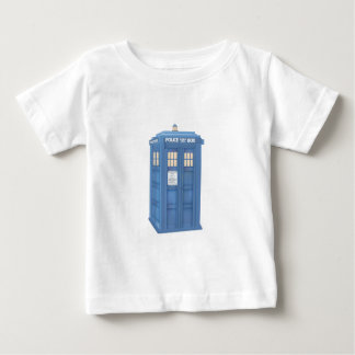 Vintage British Police Callbox Baby T-Shirt