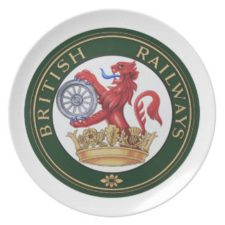 Vintage British Railways logo Plate