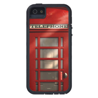 Vintage British Red Phonebox iPhone 5 Covers