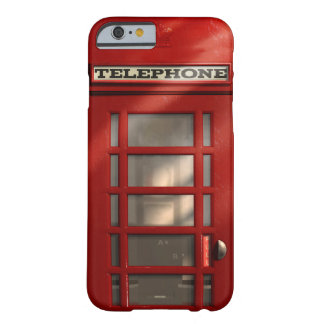 Vintage British Red Telephone Box Barely There iPhone 6 Case