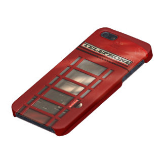 Vintage British Red Telephone Box Case For The iPhone 5
