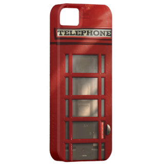 Vintage British Red Telephone Box iPhone 5 Cases