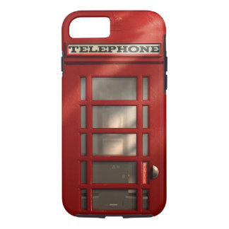 Vintage British Red Telephone Box iPhone 8/7 Case