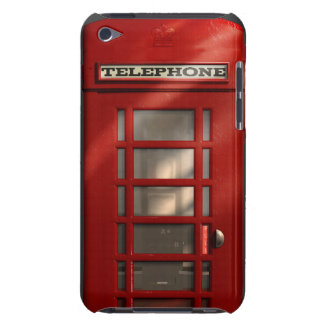 Vintage British Red Telephone Box iPod Case-Mate Case