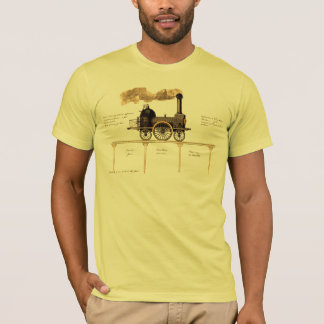 Vintage British Steam Engine T-Shirt