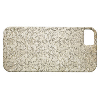 Vintage Brocade Damask Print Barely There iPhone 5 Case