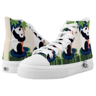 "Vintage ""Brookfield Zoo"" art shoes"
