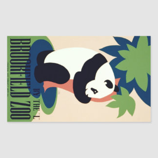 "Vintage ""Brookfield Zoo"" stickers"