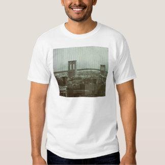 Vintage Brooklyn Bridge Glass Slide Shirt