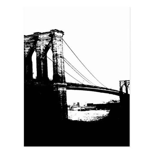 Vintage Brooklyn Bridge Post Cards