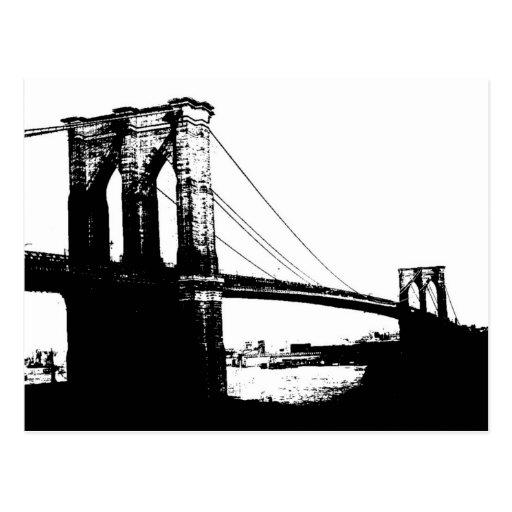 Vintage Brooklyn Bridge Postcards