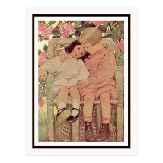 Vintage Brother and Sister by Jessie Willcox Smith
