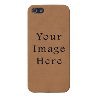 Vintage Brown Leather Parchment Paper Background Covers For iPhone 5