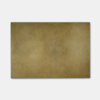 Vintage Brown Tan Parchment Personalized Template Post-it Notes