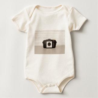 Vintage Brownie 127 Camera Baby Bodysuit
