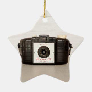 Vintage Brownie 127 Camera Christmas Ornament
