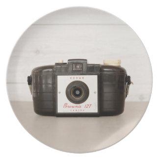 Vintage Brownie 127 Camera Plate
