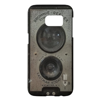 Vintage Brownie Camera Barely There Samsung Cases
