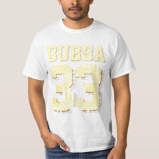 VINTAGE BUBBA 33 TSHIRTS