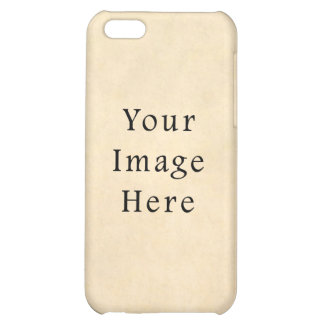 Vintage Buckskin Beige Parchment Paper Background iPhone 5C Cover