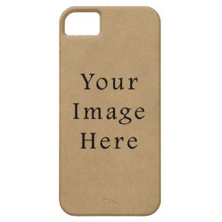 Vintage Buckskin Brown Parchment Paper Background iPhone 5 Case