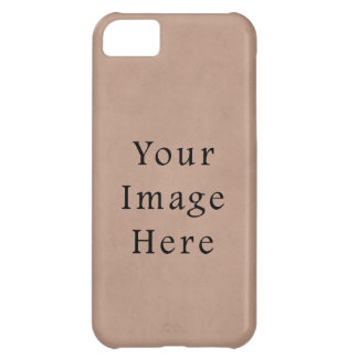 Vintage Buckskin Brown Parchment Paper Background iPhone 5C Case