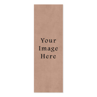 Vintage Buckskin Brown Parchment Paper Background Pack Of Skinny Business Cards