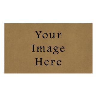 Vintage Buckskin Brown Parchment Paper Background Pack Of Standard Business Cards