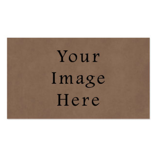 Vintage Buckskin Brown Parchment Paper Background Pack Of Standard Business Cards